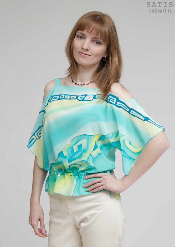 Модели Блузок Из Шелка Фото В Красноярске