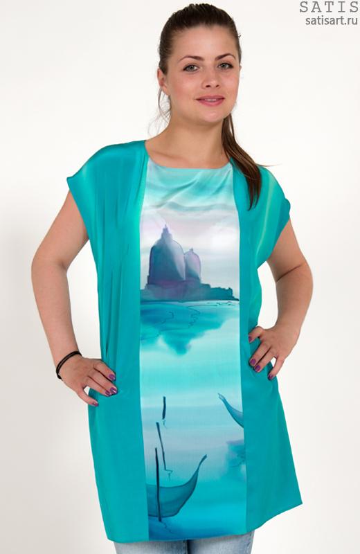 Купить Блузку Из Шелка В Самаре