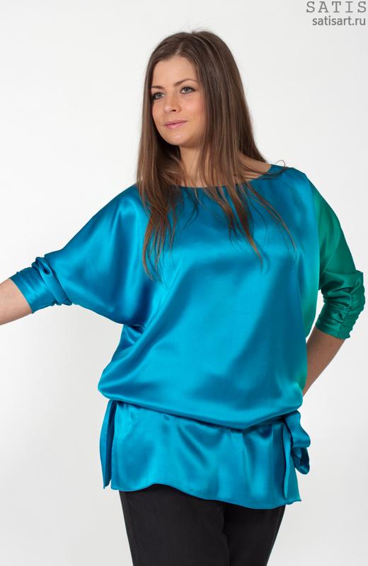 Шелковые Вечерние Блузки