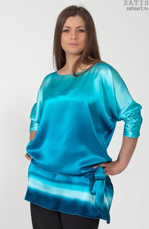 Купить Шелковые Блузки Из Натурального Шелка