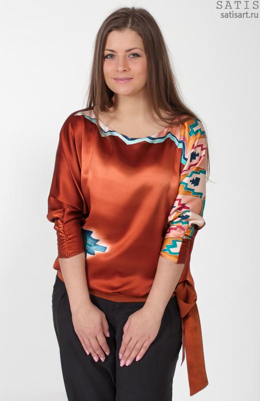 Блузки Из Натурального Шелка Купить В Екатеринбурге