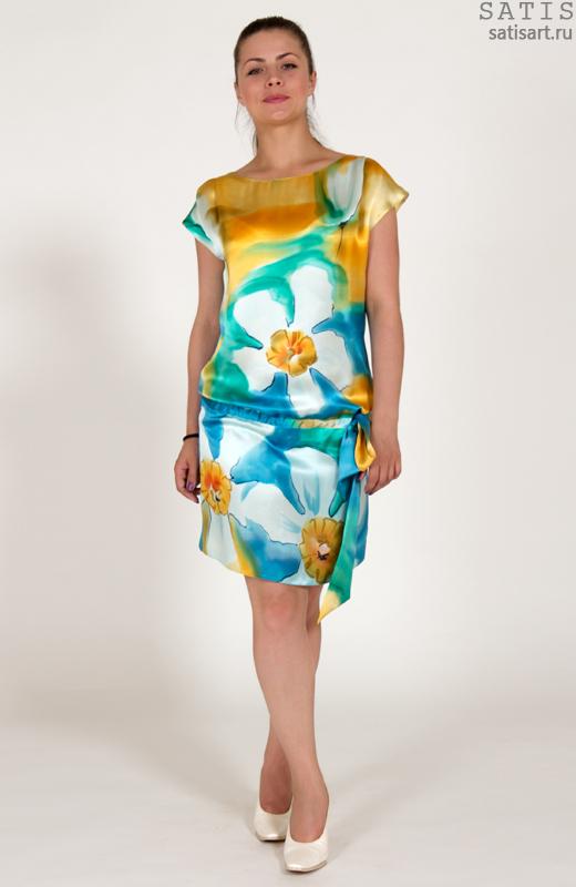 Шелковые платья - купить модные модели из шелка, коллекции