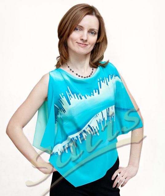 Купить Блузку Из Шелка Казань