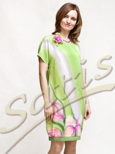 Шелковая коллекция платьев
