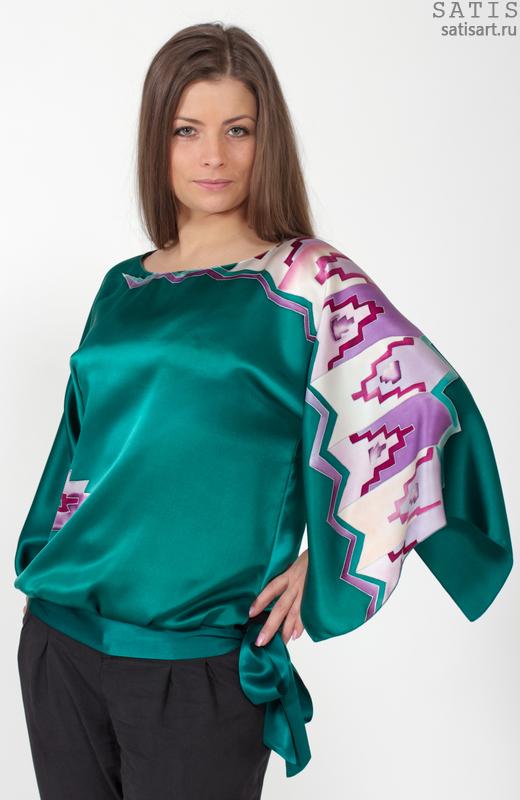 Купить Блузку Из Натуральных Тканей В Самаре