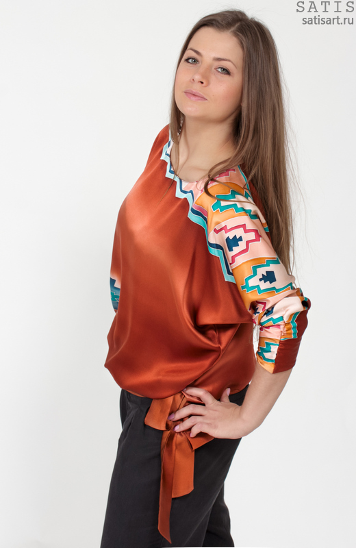 Блузки Из Шелка В Волгограде