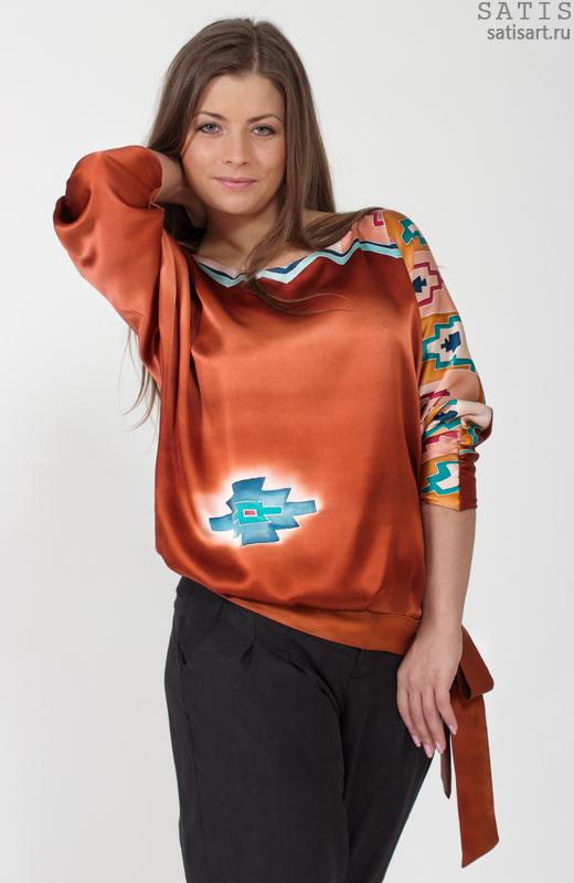 15e9592d2c1 Блуза шёлковая Торресв интернет-магазине Сатис