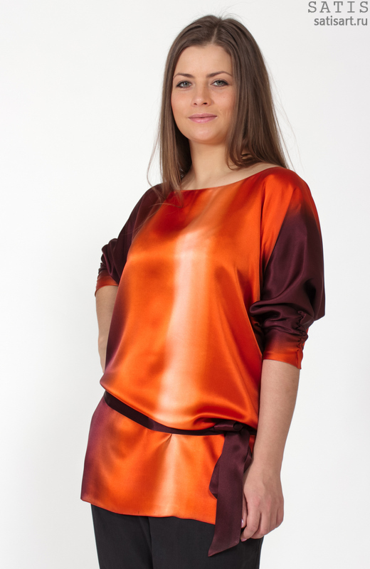Шелковая Блузка Интернет Магазин