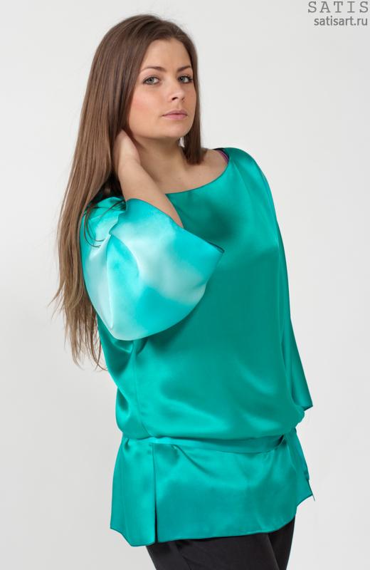 Купить Блузку Из Шелка В Санкт Петербурге