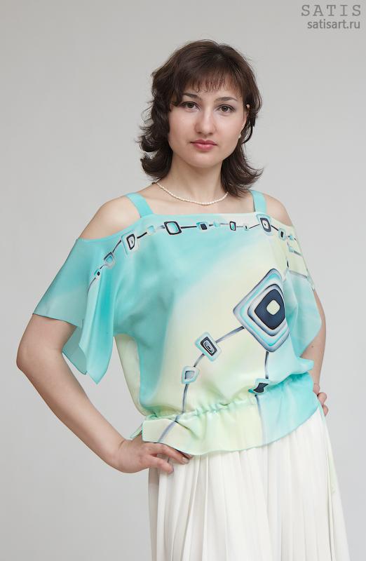 Блузки Для Женщин Из Шифона Казань