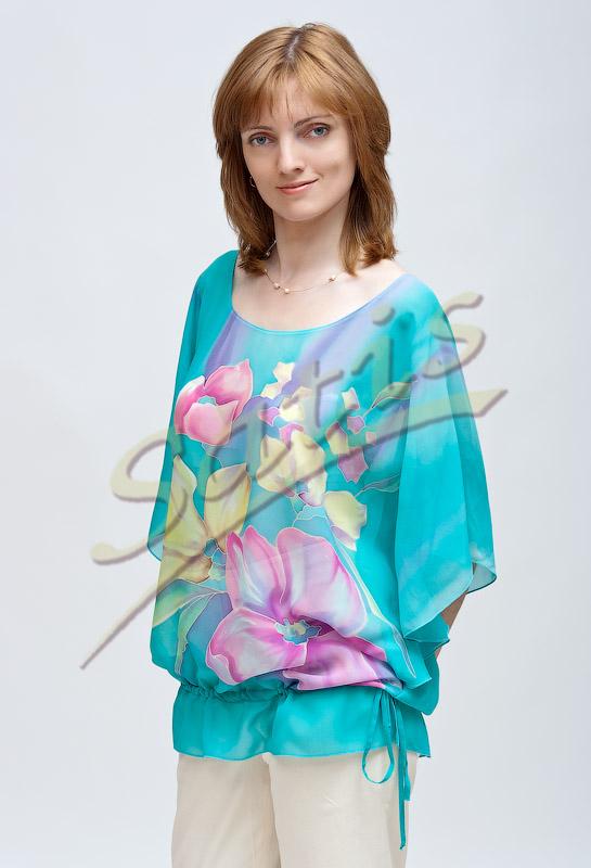 Красивые Блузки Из Шелка В Волгограде