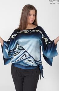 Блузы из натурального шелка (ассортимент)