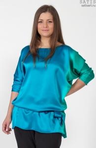 3158b111013 Блуза шёлковая Альмерия интернет-магазине Сатис